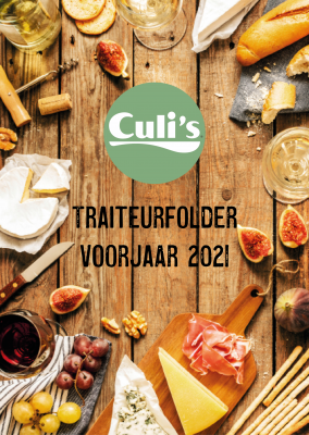 Traiteurfolder 2021 - voorjaar